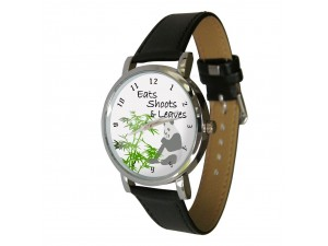 Eat Shoots Leaves Design Watch