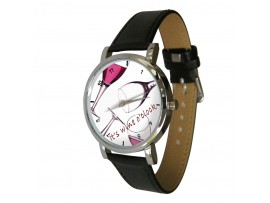 Wine o'clock Wristwatch