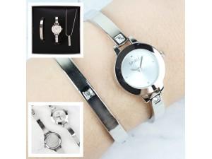 Personalised Ladies Watch Set