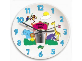 Personalised Zoo Clock