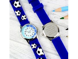 Personalised Kid's Blue Time Teacher Watch