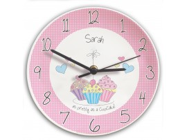 Personalised Cupcake Clock