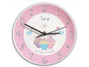 Personalised Cupcake Clock