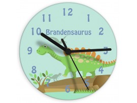 Personalised Dinosaur Clock