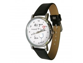 All you need is love and Gin design watch ©