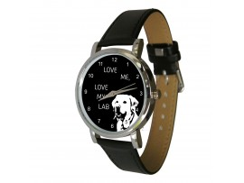 Love me, love my Lab design watch ©